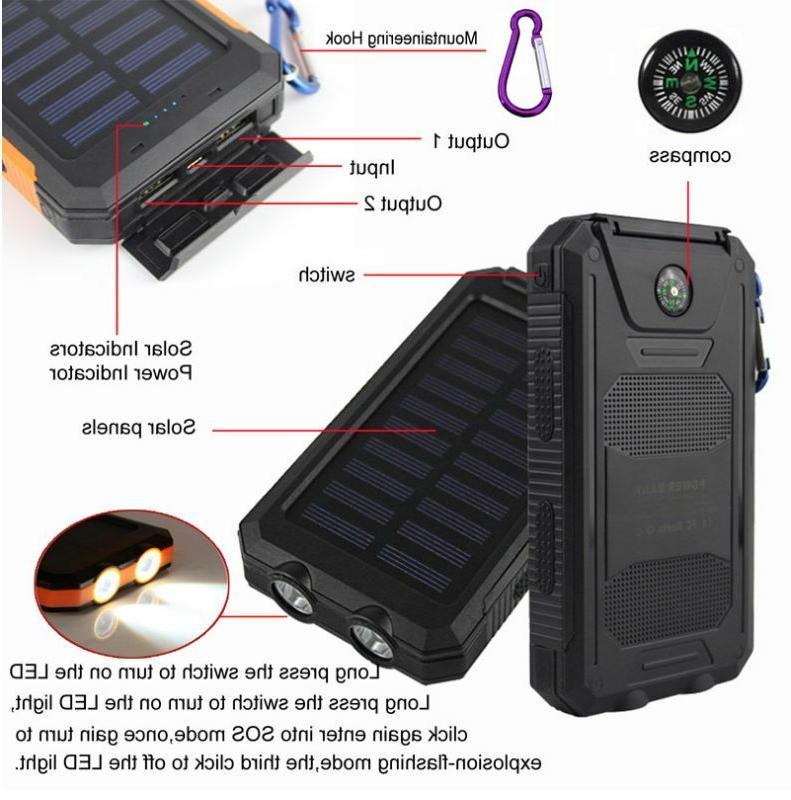 2021 2000000mAh USB Portable Charger Power Bank
