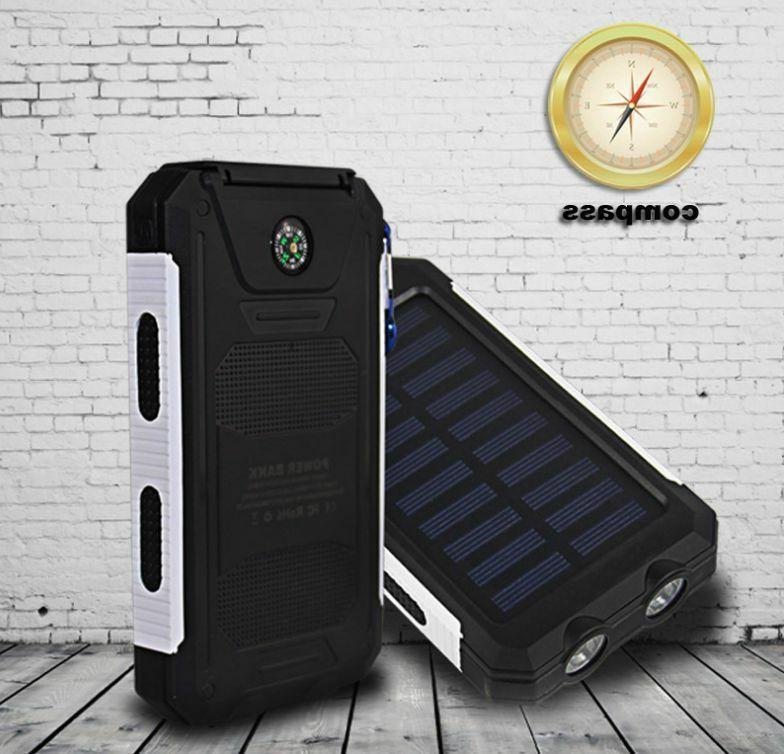2021 Waterproof 2000000mAh Portable Power Bank Cell Phone