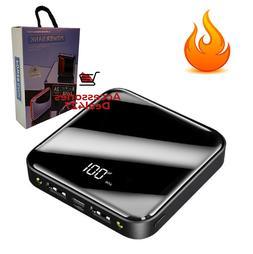 Mini 900000mAh Power Bank UltraThin USB Portable External Ba