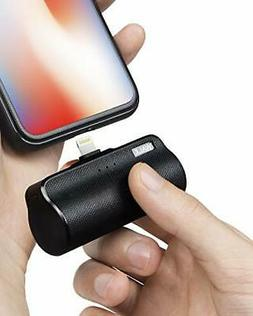 Mini Portable Charger for iPhone with Built in Cable,3350mAh