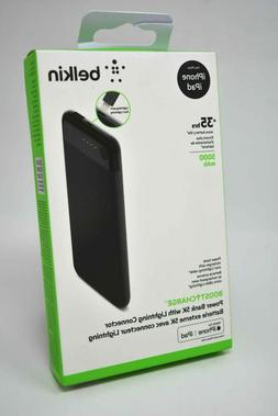 New Belkin Boost Charge Power Bank 5K mAh Lightning Connecto