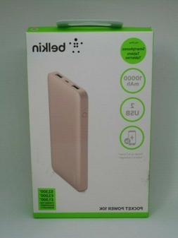 Belkin Pocket Power 10,000mAh Durable Ultra Slim Portable Ch