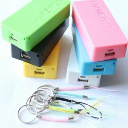Portable 5600mAh 5V USB Power Bank 18650 Battery Charger CAS