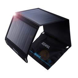Anker PowerPort 21W 2-port USB solar charger For iPhone etc