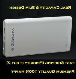 Premium Power Bank 12000mAh Slim Portable Battery Fast Charg