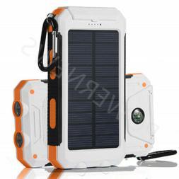 2020 Waterproof Solar Power Bank 2000000mAh Portable Battery